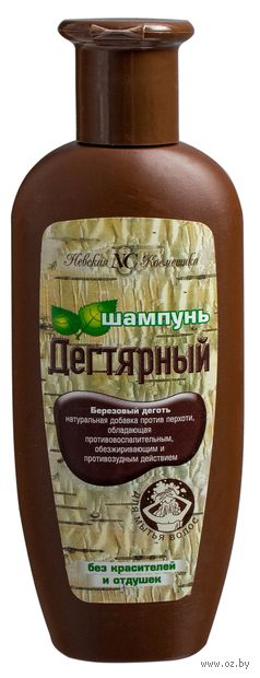 """Шампунь для волос """"Дегтярный"""" (250 мл) — фото, картинка"""