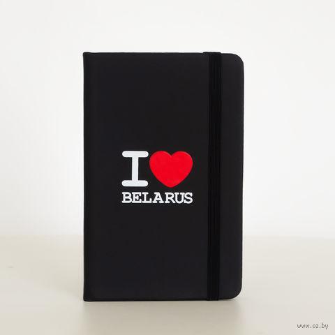 """Блокнот Vitaem """"I LOVE BELARUS"""""""