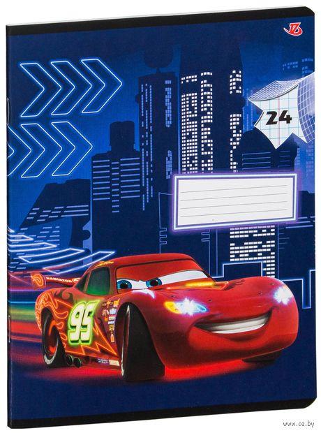 "Тетрадь в клетку ""Cars"" (24 листа)"