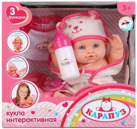 "Интерактивный пупс ""Карапуз"" (арт. 11439-RU) — фото, картинка"