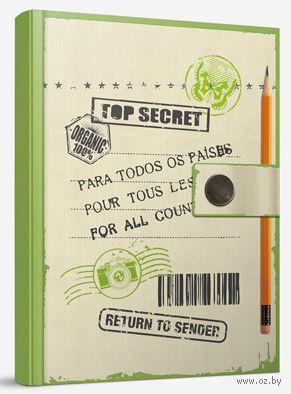 """Блокнот """"Top secret"""" (А6) — фото, картинка"""
