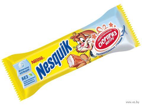 """Батончик шоколадный """"Nesquik"""" (43 г) — фото, картинка"""