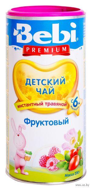 """Чай зеленый детский """"Bebi Premium. Фруктовый"""" (200 г) — фото, картинка"""