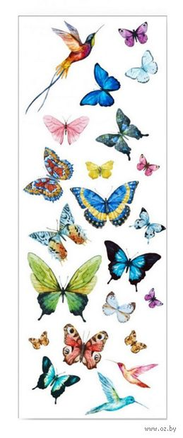 "Набор татуировок для тела ""Butterflies"" — фото, картинка"