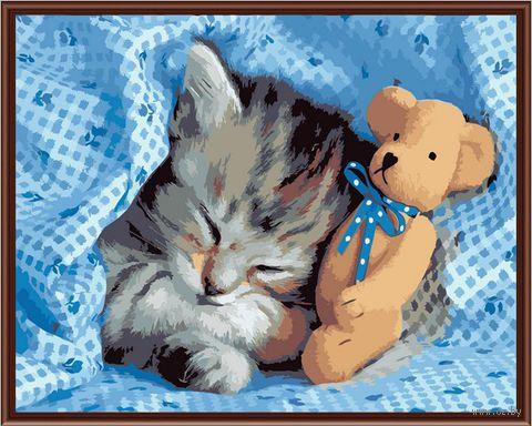 "Картина по номерам ""Сладкий сон"" (400х500 мм) — фото, картинка"