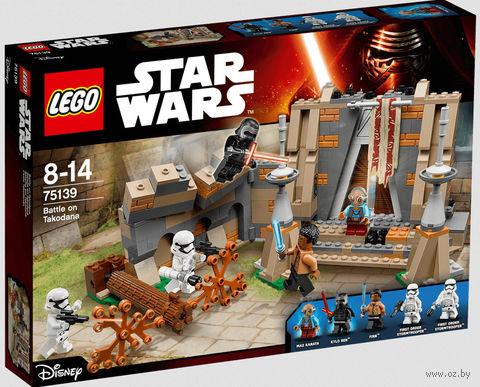 """LEGO Star Wars """"Битва на планете Такодана"""" — фото, картинка"""