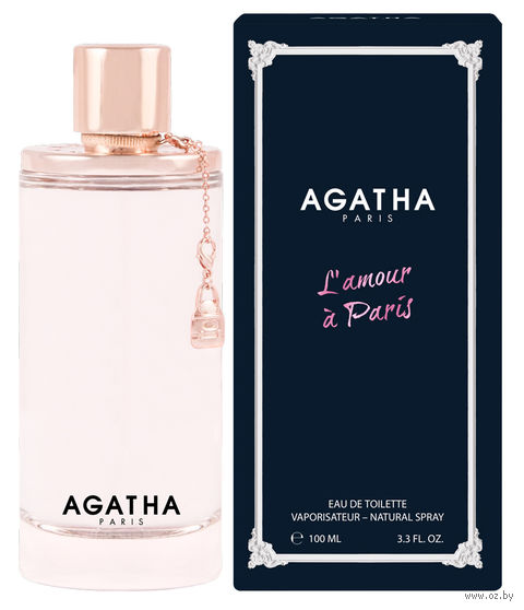 "Туалетная вода для женщин Agatha ""L'amour A Paris"" (100 мл) — фото, картинка"