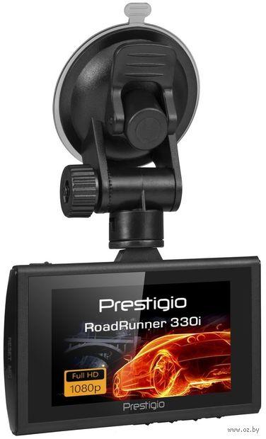 Автомобильный видеорегистратор Prestigio RoadRunner 330i PCDVRR330I — фото, картинка