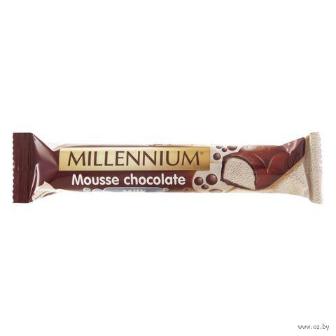 """Шоколад молочный """"Millennium. Mousse"""" (38 г) — фото, картинка"""