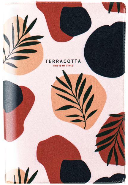 """Обложка на паспорт """"Terracotta"""" — фото, картинка"""