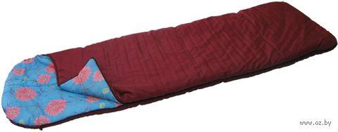 Спальник с подголовником 3-слойный СП-3 (ассорти)