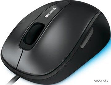 Проводная оптическая мышь Microsoft Retail Comfort Mouse 4500 (black)