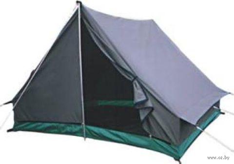 """Двухместная однослойная брезентовая палатка """"Домик 2-Б"""""""