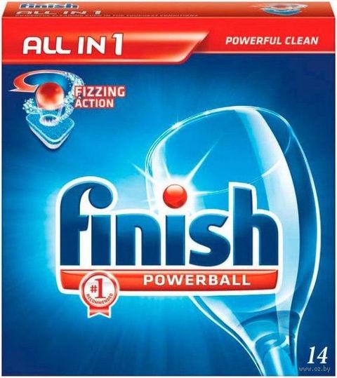 Таблетки для посудомоечных машин FINISH (14 шт)