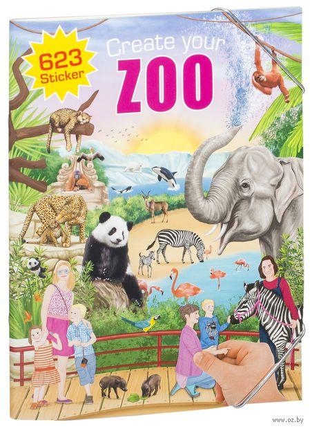 """Альбом с наклейками """"Creative Studio. Create your Zoo"""" — фото, картинка"""