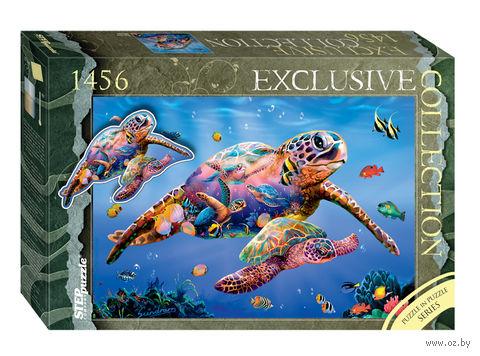 """Пазл """"Черепахи"""" (1456 элементов) — фото, картинка"""