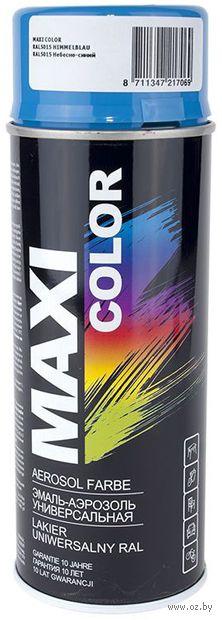 """Эмаль аэрозольная """"Maxi Color"""" (небесно-голубая) — фото, картинка"""