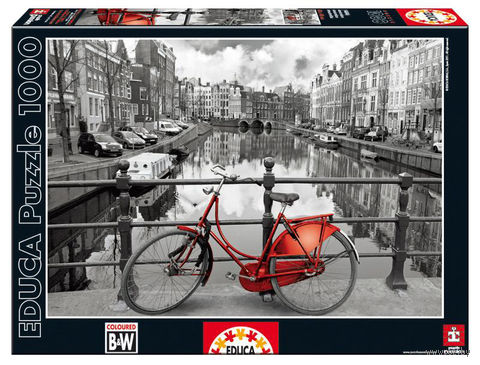 "Пазл ""Амстердам"" (1000 элементов) — фото, картинка"