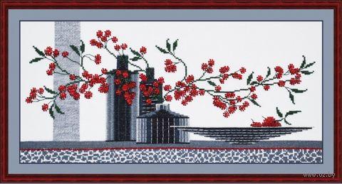 "Набор для вышивания ""Композиция с вазами"" (400х200 мм; арт. 603В) — фото, картинка"