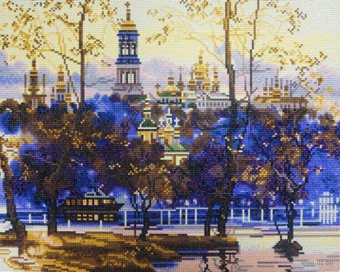 """Алмазная вышивка-мозаика """"Русский пейзаж"""" (400х500 мм) — фото, картинка"""