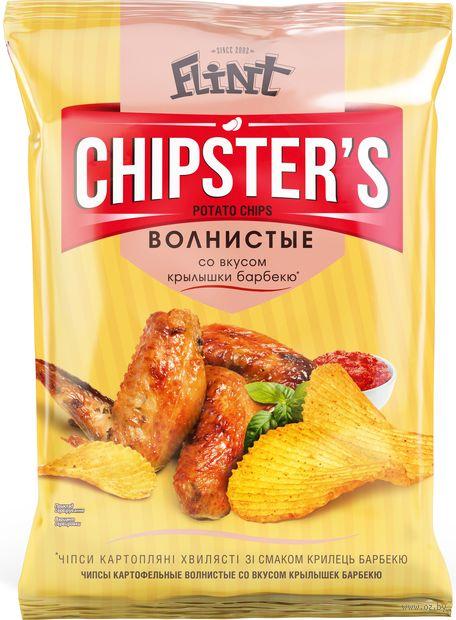 """Чипсы картофельные """"Chipster's. Крылышки барбекю"""" (70 г) — фото, картинка"""