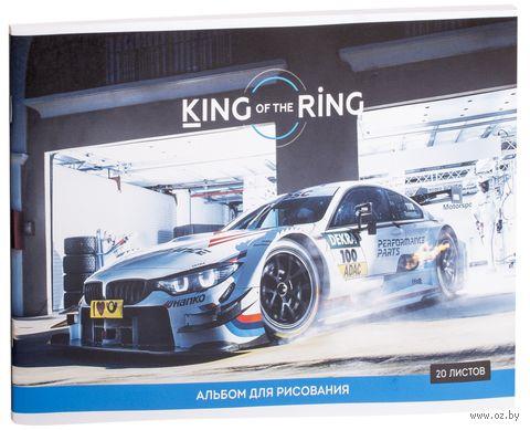 """Альбом для рисования """"King of the Ring"""" (А4; 20 листов) — фото, картинка"""