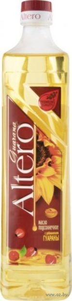 """Масло подсолнечное """"Altero. С добавлением гуараны"""" (810 мл) — фото, картинка"""