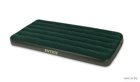 Матрас надувной зеленый (99*191*22 см, пластик)