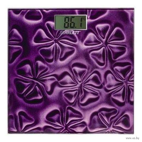 Весы напольные Scarlett SC-2218 (Purple)