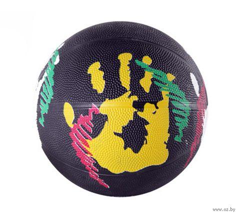 """Мяч баскетбольный """"Цветной"""" (арт. Т38509) — фото, картинка"""