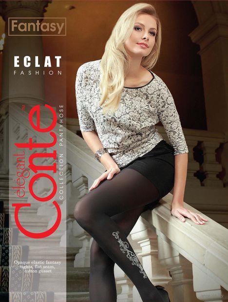 """Колготки женские фантазийные """"Conte. Eclat"""" (арт. 1012810094)"""