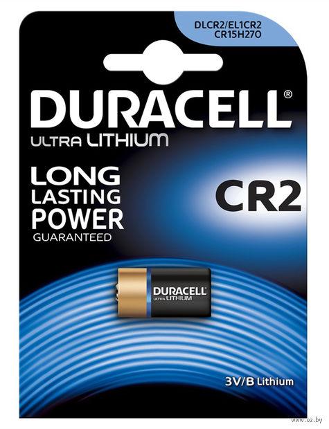 "Батарейка литиевая ""Duracell Ultra Photo"" 3V CR2 (1 шт)"