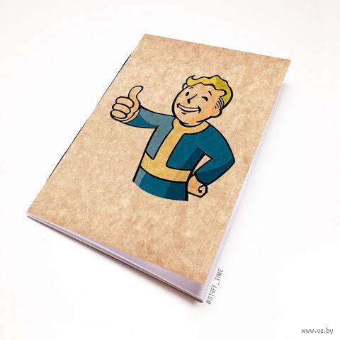 """Блокнот крафт """"Fallout"""" А7 (109)"""