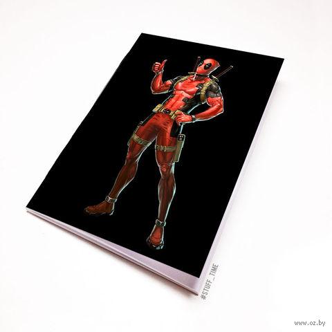 """Блокнот """"Дэдпул"""" (А5; арт. 679) — фото, картинка"""