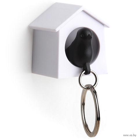 """Брелок-свисток и держатель для ключей """"Mini Sparrow"""" (черный)"""