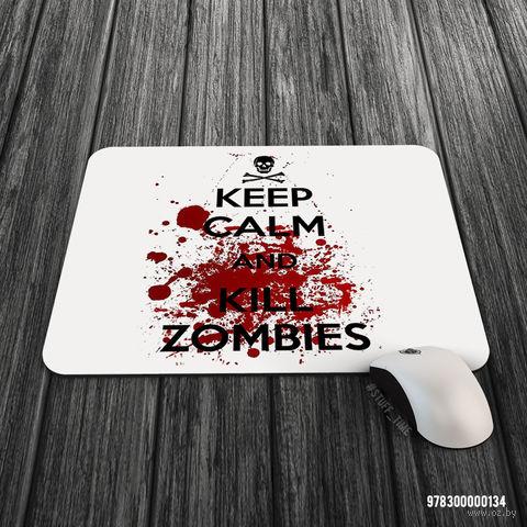 "Коврик для мыши большой ""Kill Zombies"" (арт. 134)"