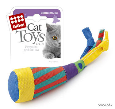 """Игрушка для кошек """"Неваляшка"""" с кошачьей мятой (12 см)"""