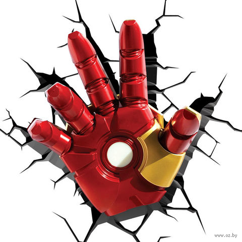 Декоративный светильник - Железный человек. Рука