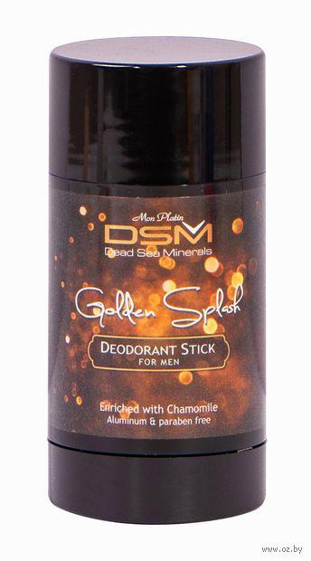 "Дезодорант для мужчин ""DSM. Golden Splash"" (стик; 80 мл) — фото, картинка"