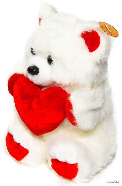 """Мягкая игрушка """"Медведь с сердцем"""" (42 см) — фото, картинка"""