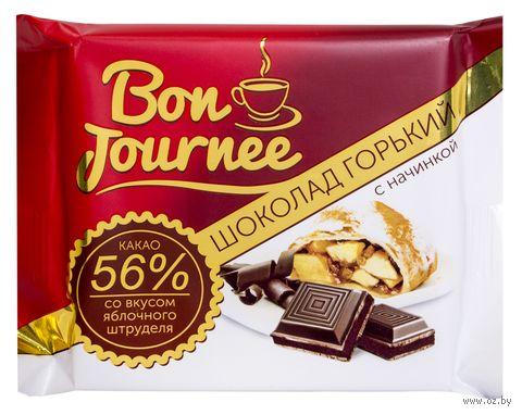 """Шоколад горький """"Bon Journee. Со вкусом яблочного штруделя"""" (80 г) — фото, картинка"""