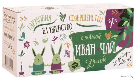 """Фиточай """"Образ жизни Алтая. Иван-чай с мятой"""" (20 пакетиков) — фото, картинка"""