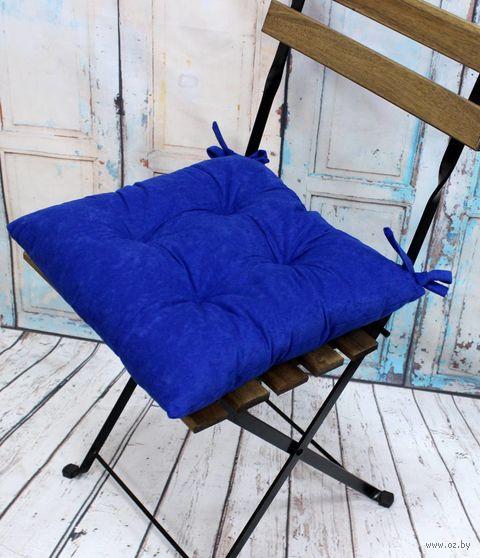"""Подушка на стул """"Velours. Electric"""" (42х42 см) — фото, картинка"""