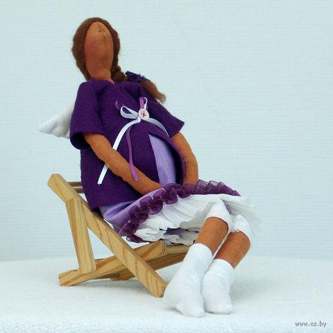 """Кукла ручной работы """"Ангел-хранитель будущих мам"""""""