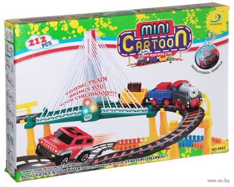 "Железная дорога ""Mini Cartoon"" (арт. 6602) — фото, картинка"