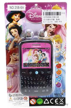 """Музыкальная игрушка """"Телефон. Принцессы"""" (арт. 258-6A)"""