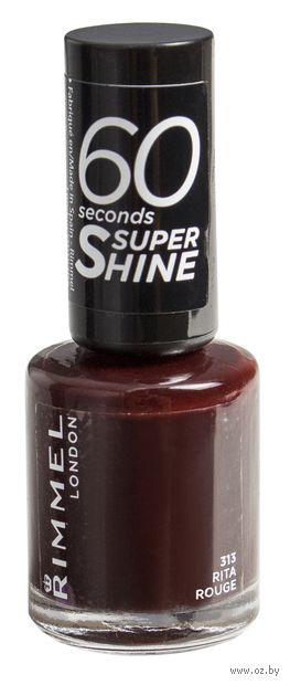 "Лак для ногтей ""60 Seconds Super Shine"" (тон: 313)"