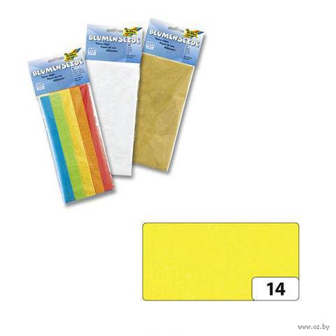 Бумага папиросная (ярко-желтый; 500х700 мм; 5 листов)