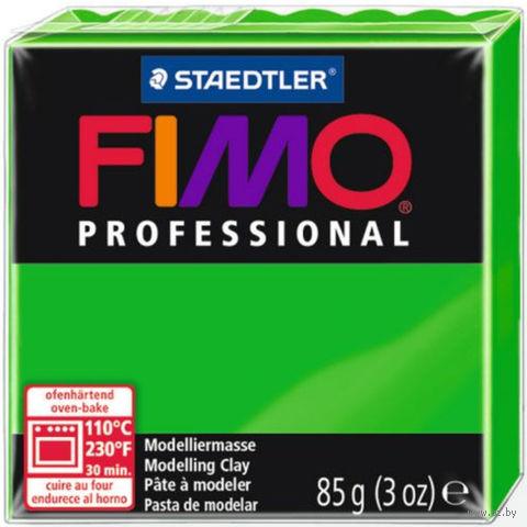 """Глина полимерная """"FIMO Professional"""" (светло-зеленый; 85 г) — фото, картинка"""