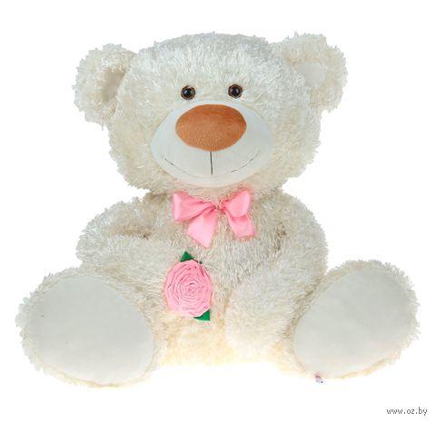 """Мягкая игрушка """"Медведь Леонтий"""" (61 см; белый) — фото, картинка"""